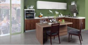 Panel Kitchen Furniture Melamine Kitchen Cabinet (zg-016) pictures & photos