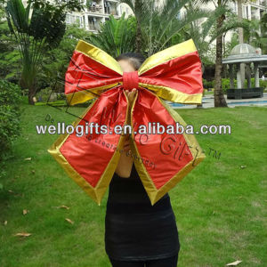 Handmade Red Velvet Gift Bow Manufacture pictures & photos