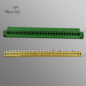 27-Hole DIN Rail Mounting Terminal Block Connector (MLIE-TB024) pictures & photos