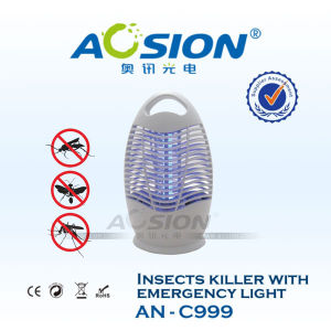 Energy Saving Solar Mosquito Killer with LED Lamp