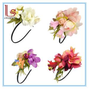 Handmade Wedding Bridal Wreath Flower Hair Hoop pictures & photos