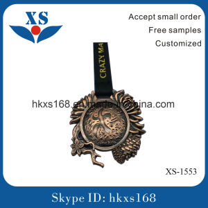 Gold Plating Custom Metal Medal pictures & photos