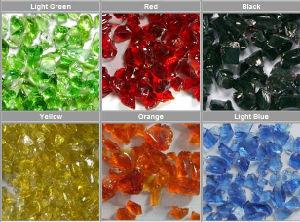 Color Glass Rock