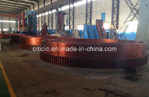 Forged Large Transmission Girth Gear Ring of Rotary Dryer pictures & photos