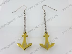 2014 Lastest Fashion Arrow Pattern 316L Steel Earrings
