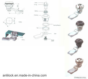 Electrical Cabinet Cam Lock (AL-001) pictures & photos
