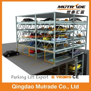 Psh Automatic Hydraulic Multi Floor Parking Lift System pictures & photos