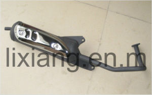 Muffler Assembly for Bt49qt-9 Motorcycle Exhaust Pipe pictures & photos