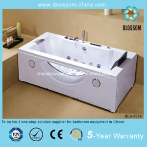 Rectangle New Style Freestanding Massage Bathtub (BLS-8078) pictures & photos