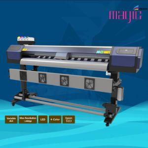 Mcjet 75 Inch Eco Solvent Digital Printer with 2 Printheads of Epson Dx7 pictures & photos