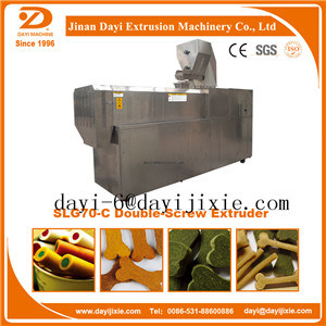 High Quality Twin Screw Extruder Snack Food Machine pictures & photos