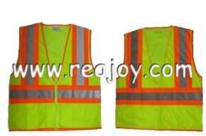 High Visibility Reflective Safety Vest