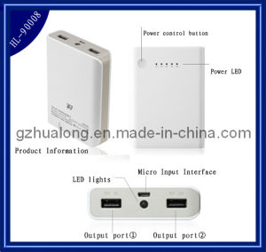 Mobile Phone Charger/ Power Bank/Mobile Power Supply (HL-90008)