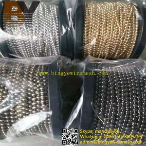 Hanging Ball Curtain Metal Bead Chain Curtain pictures & photos