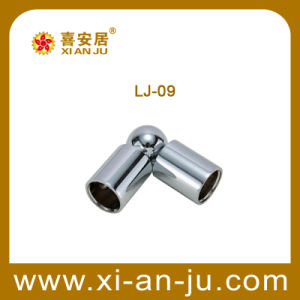 Zinc Alloy Glass Support Fitting (LJ-09)