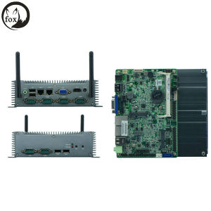 Atom N2800 with 2*Rtl811e Gigabit, 6*RS232 COM Suppport RS422/485 Industrial Min PC pictures & photos