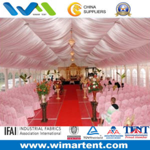 Luxury Wedding Party Tent Winterized with Curtain Liner pictures & photos
