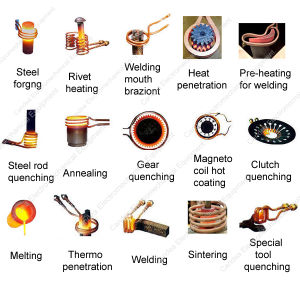 Industrial Resistance Heating Induction Smelter for Melting Gold/Platinum/Rhodium/Sliver Hf-15kw pictures & photos
