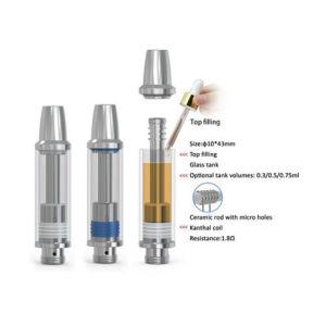 510 Grass Vaporizer Thc/CO2 /Cbd Hemp Disposable Vape Pen pictures & photos