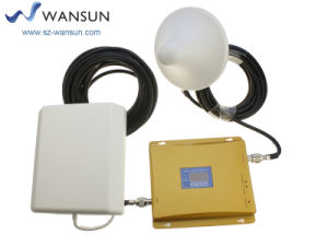 900/2100MHz GSM/WCDMA Wansuntone 17c54p1 LCD Cell Phone Signal Booster Repeater Mobile Amplifier