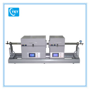 1200c Dual Zone Multi Function Sliding Tube Furnace for MOS2 Film Preparation Cy-O1200-50iit-Xs pictures & photos