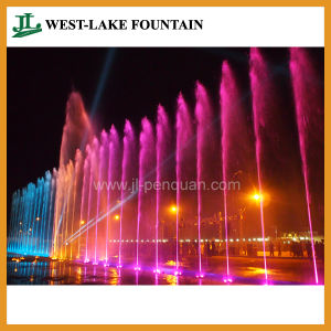 Running Spring Fountain with Music, LED Lighting, Laser pictures & photos