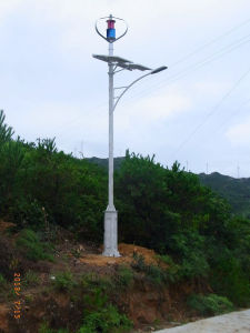 600W Vertical Wind Turbine Generator on The Mountain pictures & photos