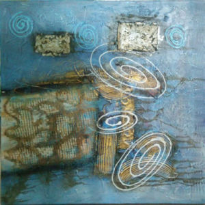Handmade Abstract Paintings on The Paper for You Home (LH-097000) pictures & photos