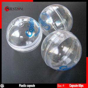 Transparent Plastic Capsules for Vending Machine (Plastic Capsule-50PS) pictures & photos
