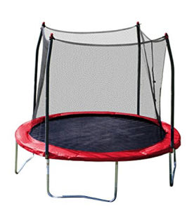 Red Jumping Bed (trampoline) with 4 Legs and Safety Enclosure pictures & photos