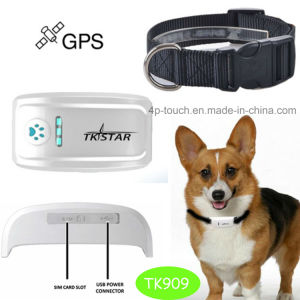 2017 New Design Pets GPS Tracker with Collar (TK909) pictures & photos