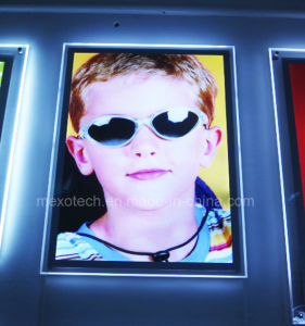 Home Decoration Acrylic Photo Frame LED Slim Light Box (CSW03-A2L-01) pictures & photos