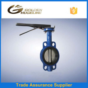 4inch Cast Iron Wafer Butterfly Valve pictures & photos