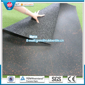Indoor Rubber Flooring Playground Rubber Flooring Square Rubber Tile pictures & photos