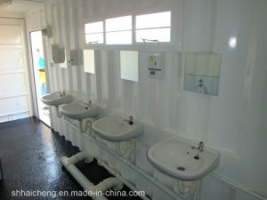 Commercial Public Portable Modular Container Toilet (shs-fp-washroom001) pictures & photos