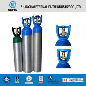 6L High Pressure Aluminum Gas Cylinder (LWH140-6.0-15) pictures & photos