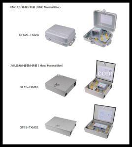 Plastic 36 Cores FTTH Distribution Terminal Box pictures & photos