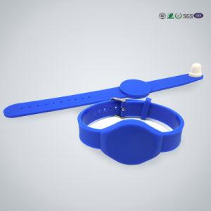 Cheap Custom Blank Silicone Slap Bracelet with Customized Logo pictures & photos