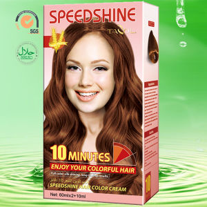 10 Minutes Hair Color Cream Medium Blonde 8.0 30ml*2+5ml pictures & photos