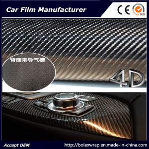 3D Carbon Fiber Film/ Car Vinyl 4D Carbon Fiber Vinyl Film for Car Wrap pictures & photos