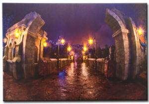 Wholesale 2016 Latest LED Light Oil Paintings on Canvas Triumphal Arch pictures & photos