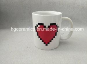 Love Color Change Mug, Decal Printing Color Change Mug pictures & photos