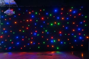 RGB Star Cloth Light, LED Star Curtain in Party, Events, TV Show, Wedding Stage Backdrop pictures & photos