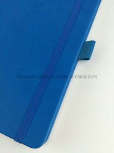 High Quality PU Hardcover Moleskine Notebook with Barclays Logo pictures & photos