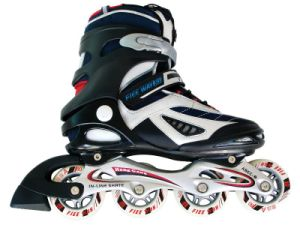 High Quality Professional Semi-Soft Adjustable Inline Skates pictures & photos