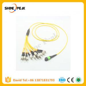 LC Sc FC St MPO Mu DIN D4 Optical Fiber Patch Cords pictures & photos
