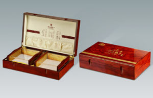 High Grade Health Products Wooden Packaging Box pictures & photos