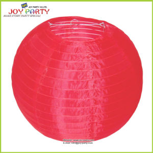 Chinese Tradtional Outdoor Red Nylon Lantern pictures & photos