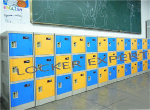 Knock Down ABS Plastic Locker for Student pictures & photos
