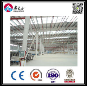 Steel Structure Sandwichi Panel Workshop/Warehouse/Factory (ZY376) pictures & photos